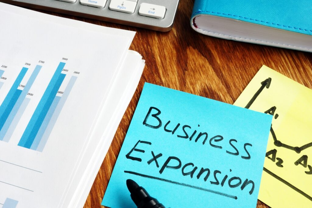 Business expansion funding