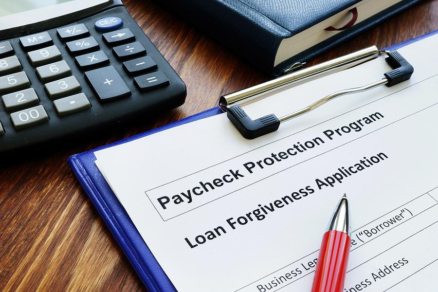 small business loan forgiveness